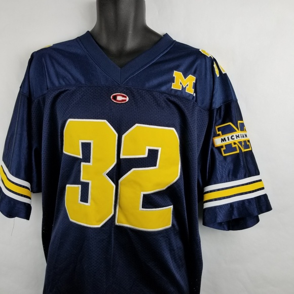 newest 83f3e 21708 Michigan Wolverines Football Embroidered Jersey